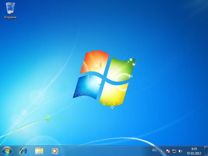 как на windows 7 установить фото на рабочий стол